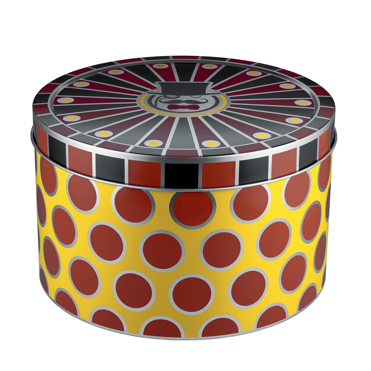 Great Circus Allpurpose Tin By Alessi With Furniture