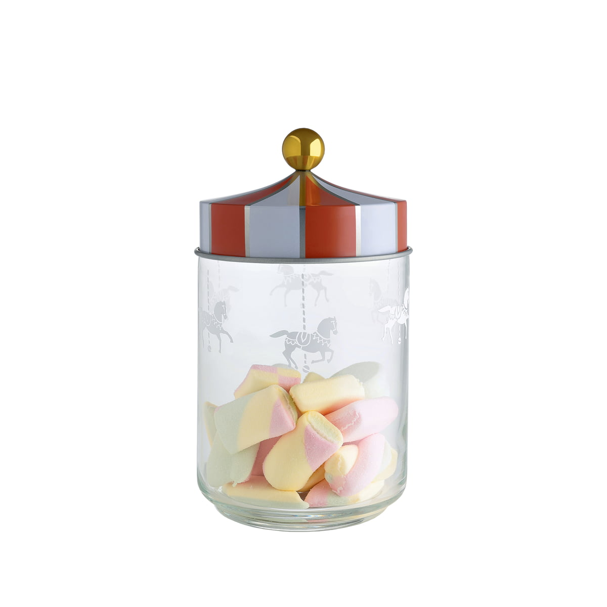 Circus Storage Jar by Alessi in the shop