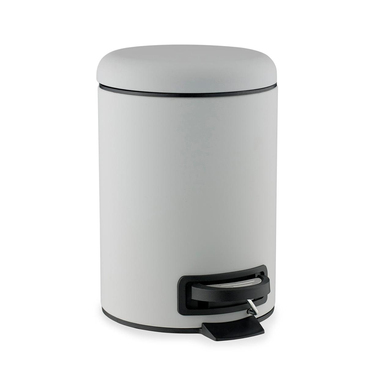 Mono bathroom bin s dahl connox shop for Grey bathroom bin