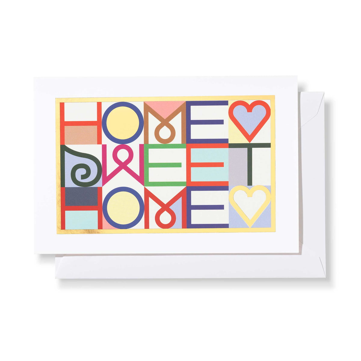 Greeting Cards Home Sweet Home By Vitra