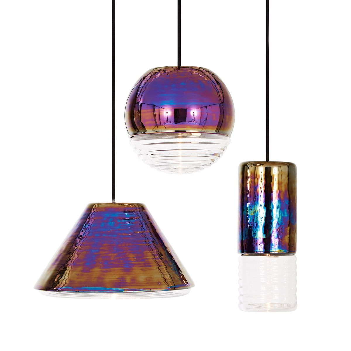 flask pendant lamp oil ball by tom dixon. Black Bedroom Furniture Sets. Home Design Ideas