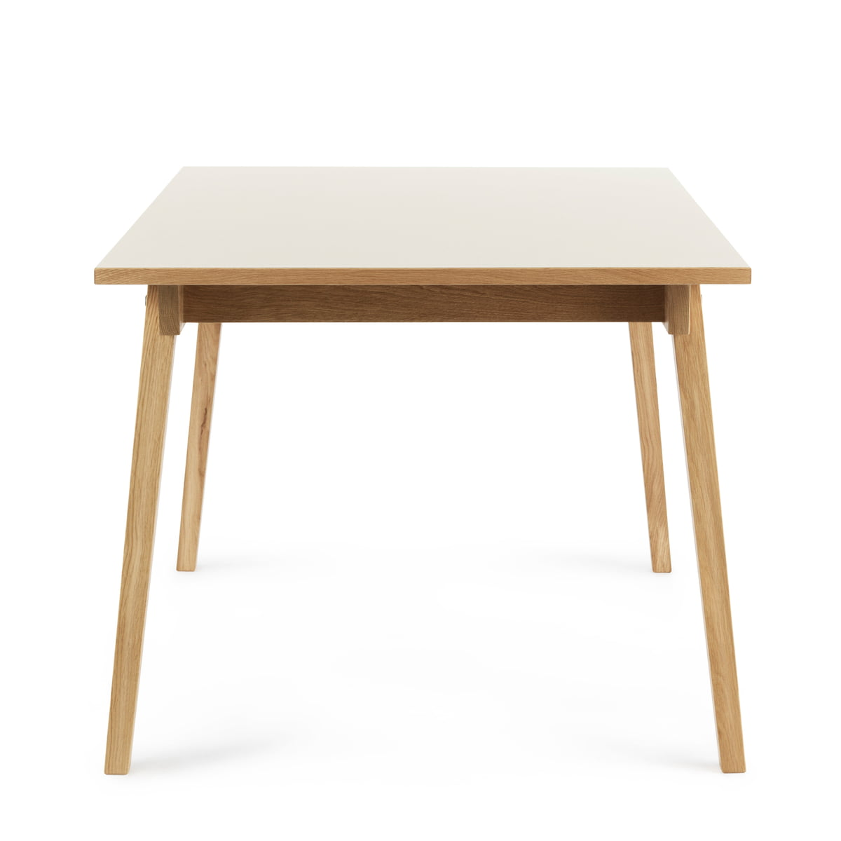 Slice table linoleum 90 x 200 cm by normann copenhagen for Table design 90 cm