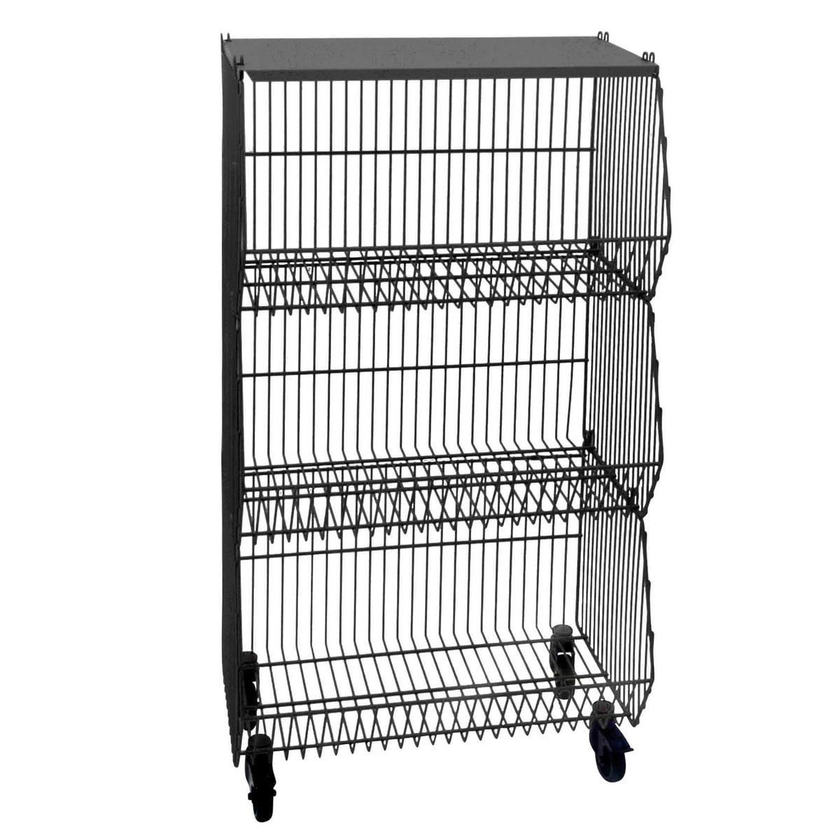 basket on castors by pension f r produkte. Black Bedroom Furniture Sets. Home Design Ideas