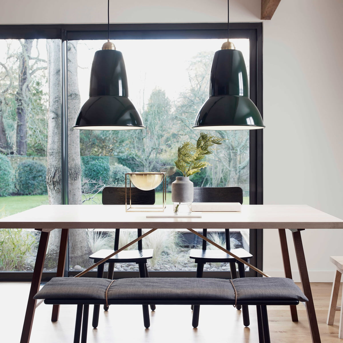 Original 1227 Giant Brass Pendant L& by Anglepoise & 1227 Giant Brass Pendant Lamp by Anglepoise azcodes.com