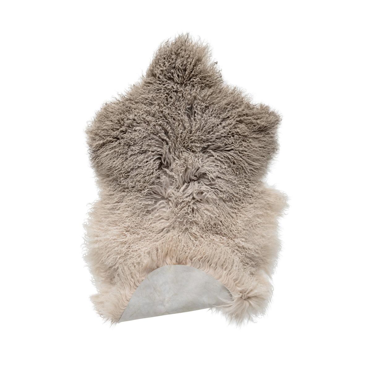 Sheepskin Rug Look: Tibetan Sheepskin Rug
