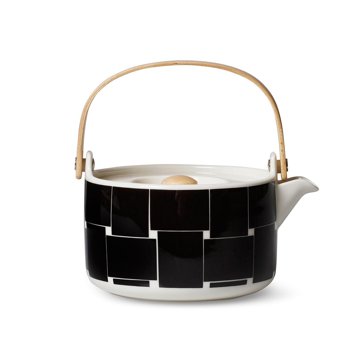 oiva basket teapot by marimekko connox. Black Bedroom Furniture Sets. Home Design Ideas