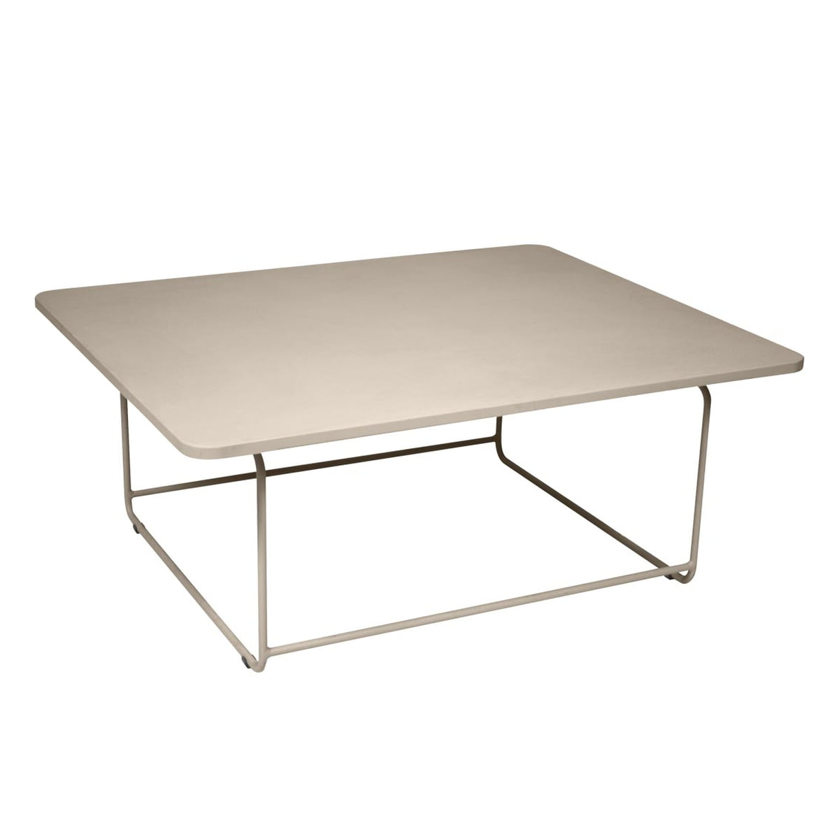 Ellipse low table by fermob connox for Table extensible fermob