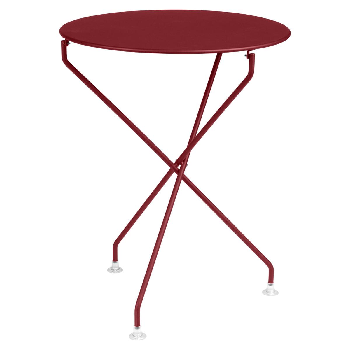 tertio table 60 cm by fermob connox shop. Black Bedroom Furniture Sets. Home Design Ideas