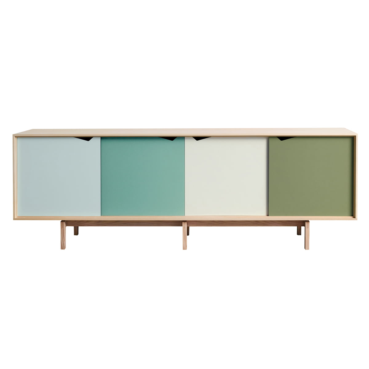 S1 sideboard multicoloured andersen furniture for Sideboard eiche