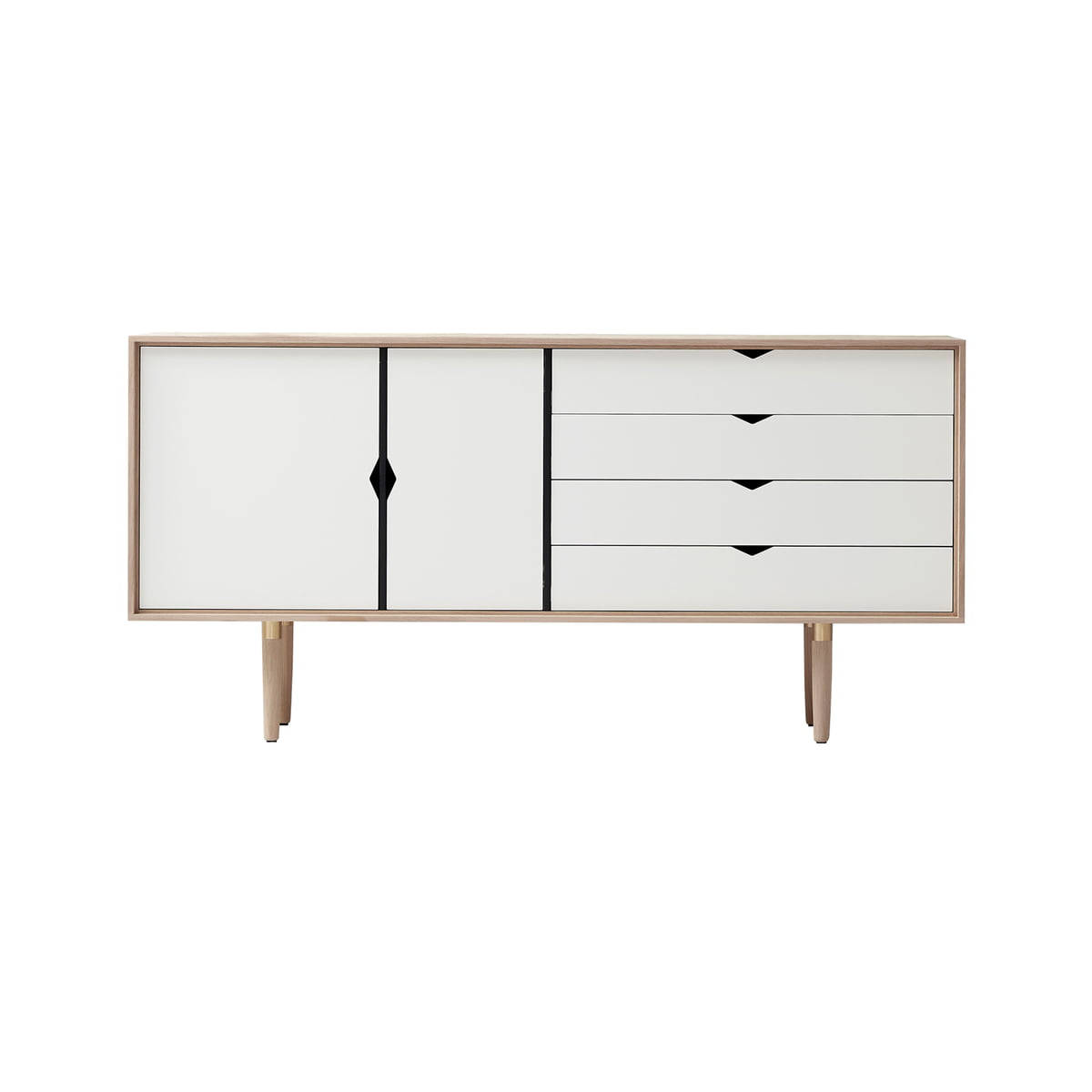 S6 sideboard unicoloured by andersen furniture for Sideboard eiche