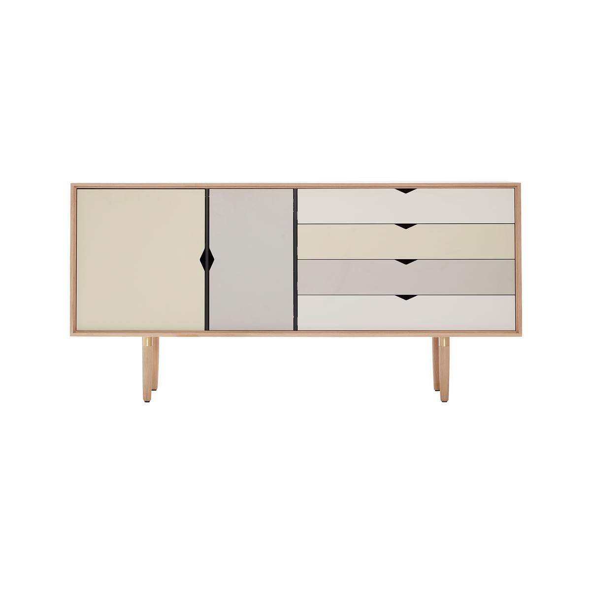Sideboard Grau s6 sideboard multicoloured andersen furniture