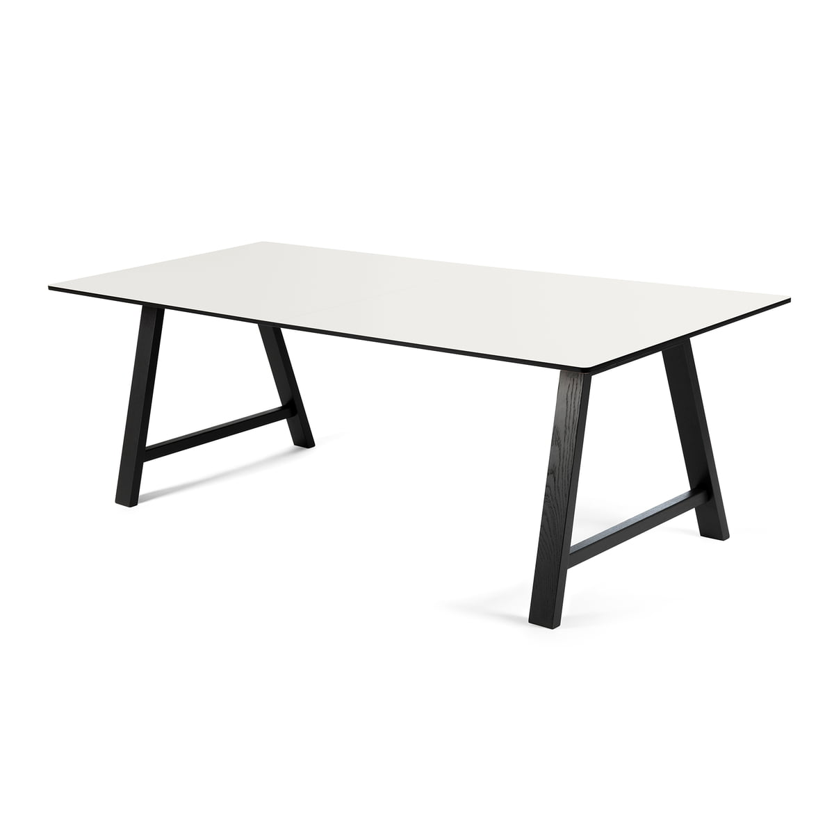 Ausziehtisch weiß  T1 Extending Table 180 cm Andersen Furniture