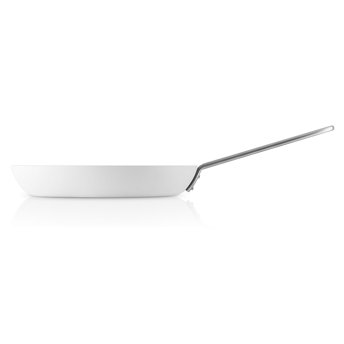 White Line Frying Pan By Eva Trio Connox