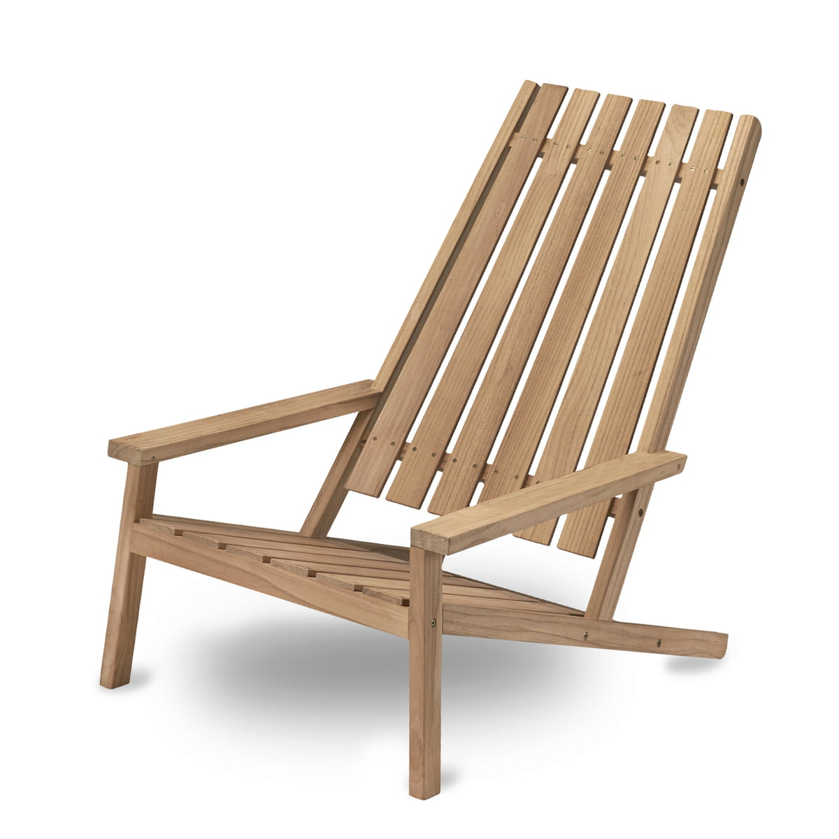 Between Lines Deck Chair By Skagerak Made Of Teak