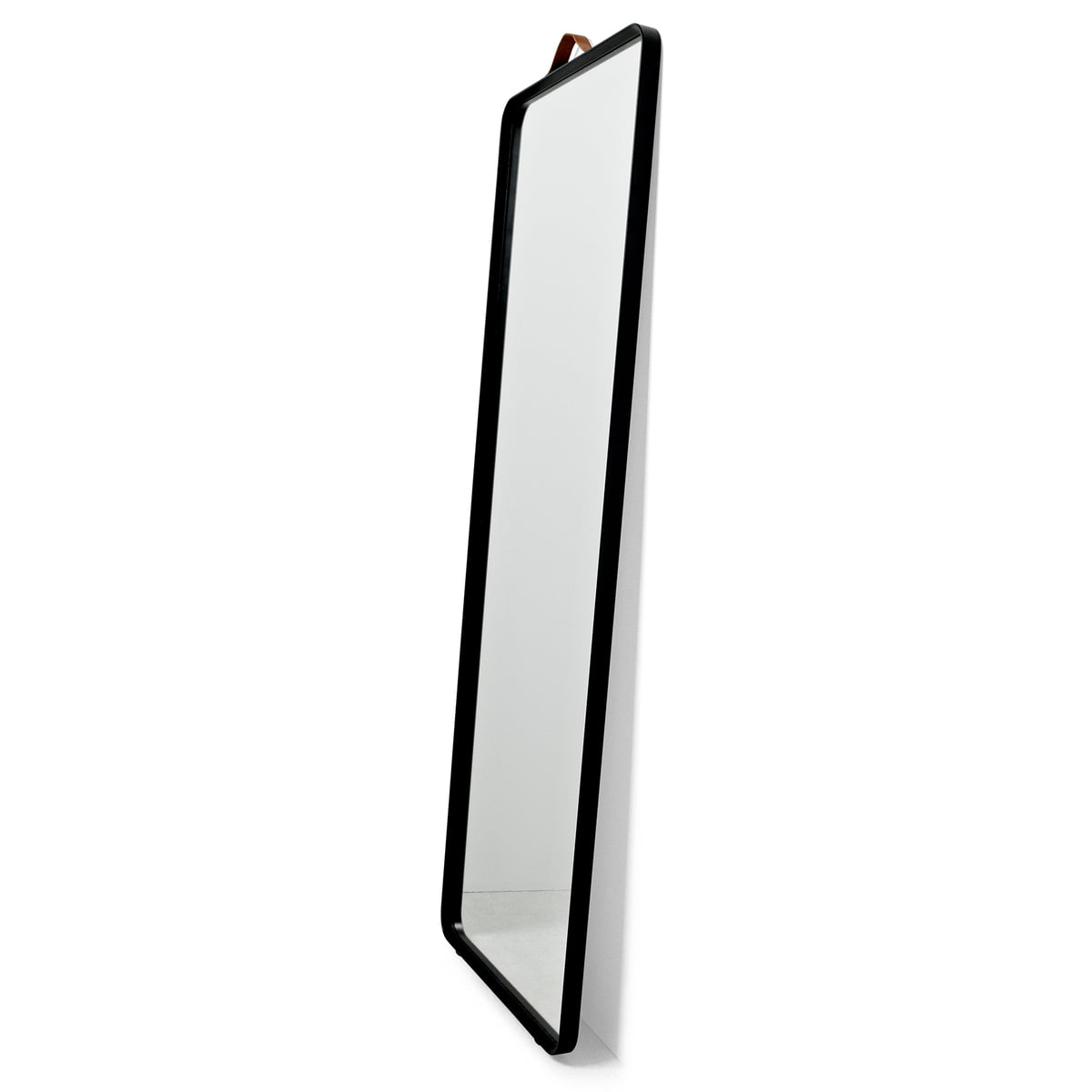 Norm Floor Mirror With Black Frame