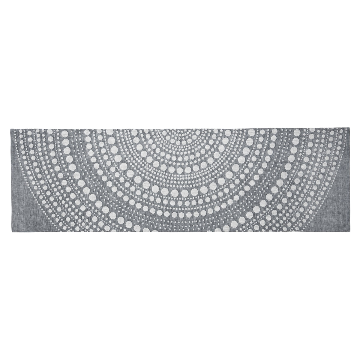 Kastehelmi Table Runner 44 X 144 Cm By Iittala In Dark Grey