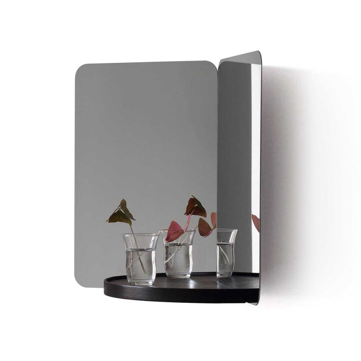 124 Mirror With Shelf By Artek