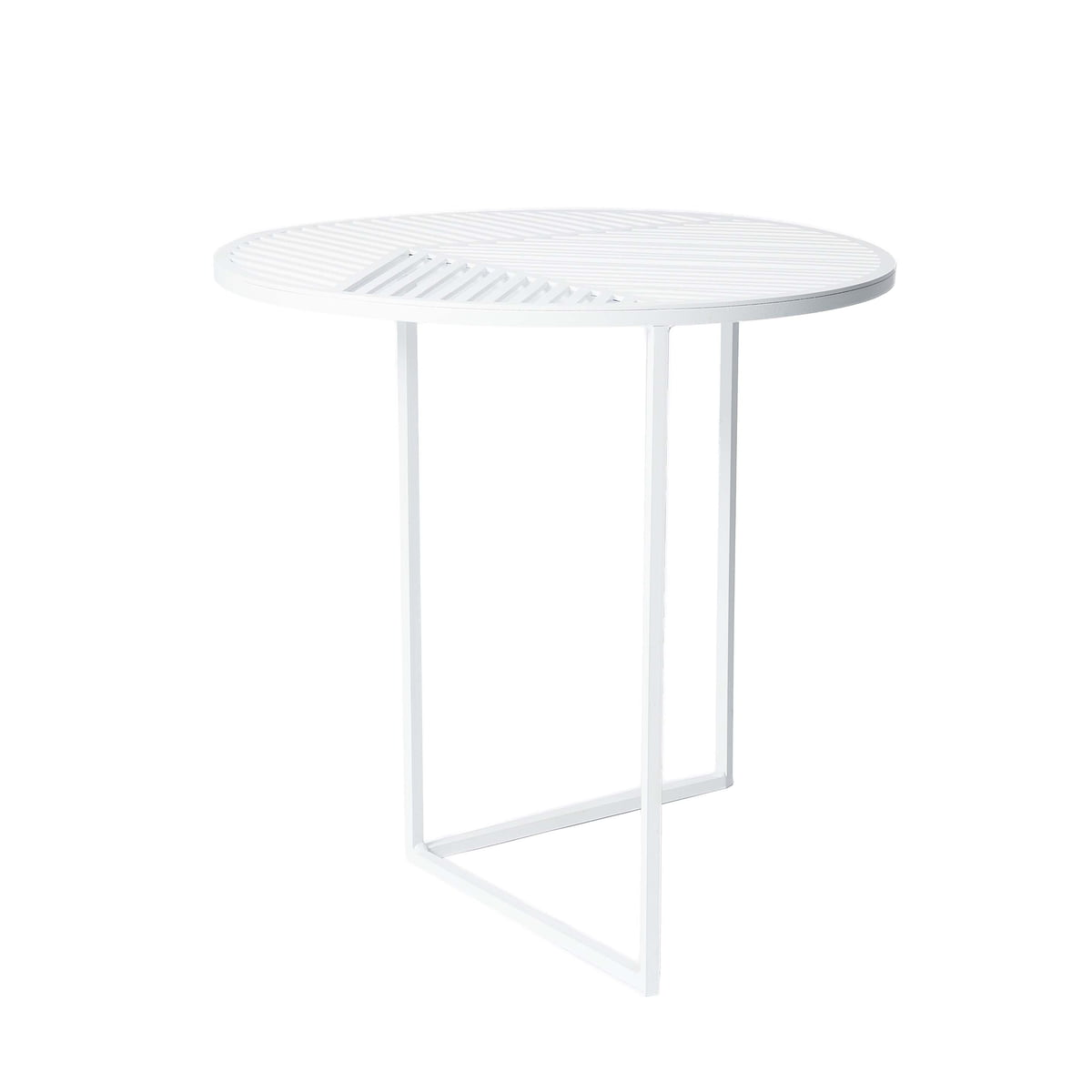 Beistelltische Weiss iso a iso b side tables by friture