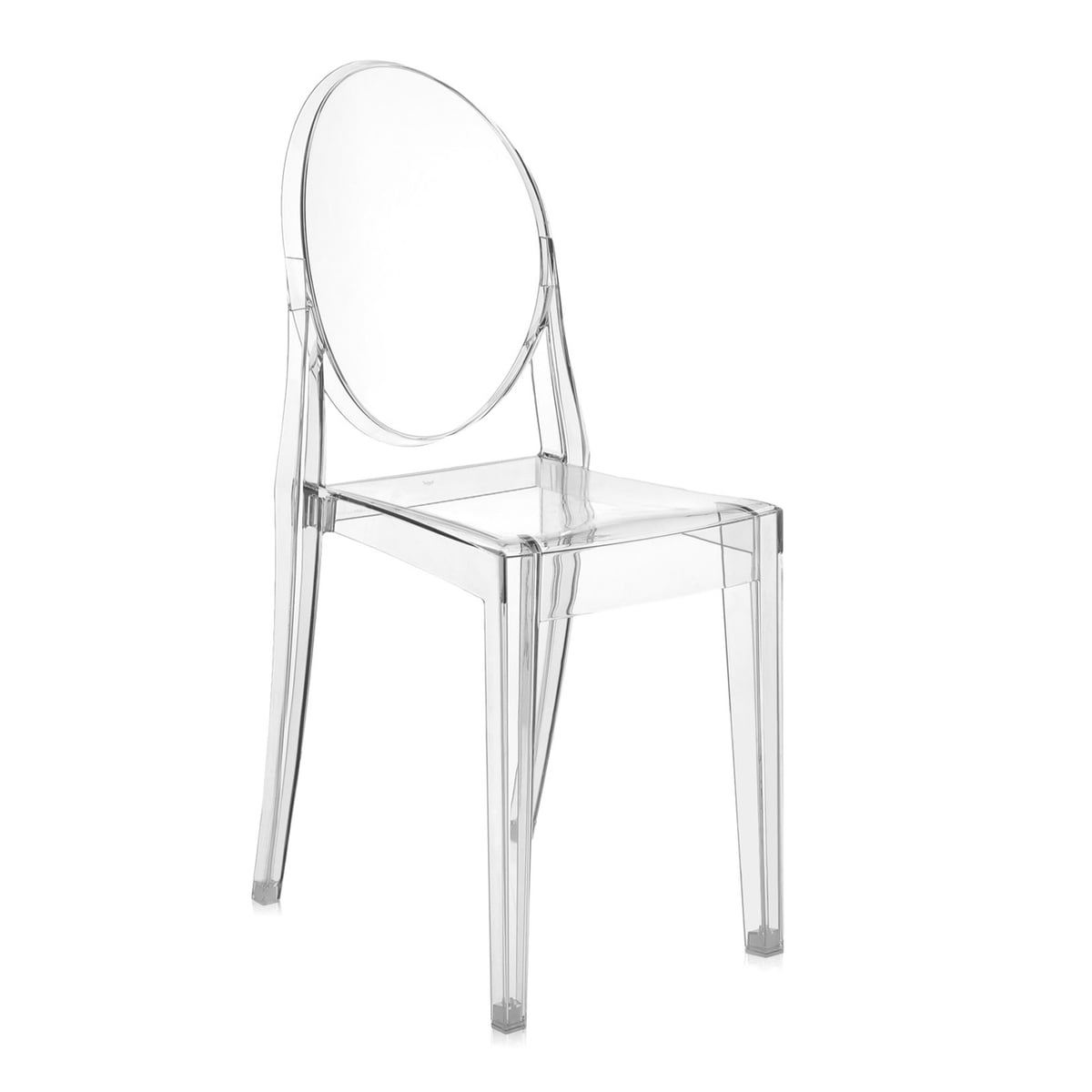 Kartell   Victoria Ghost Chair, Crystal / Transparent