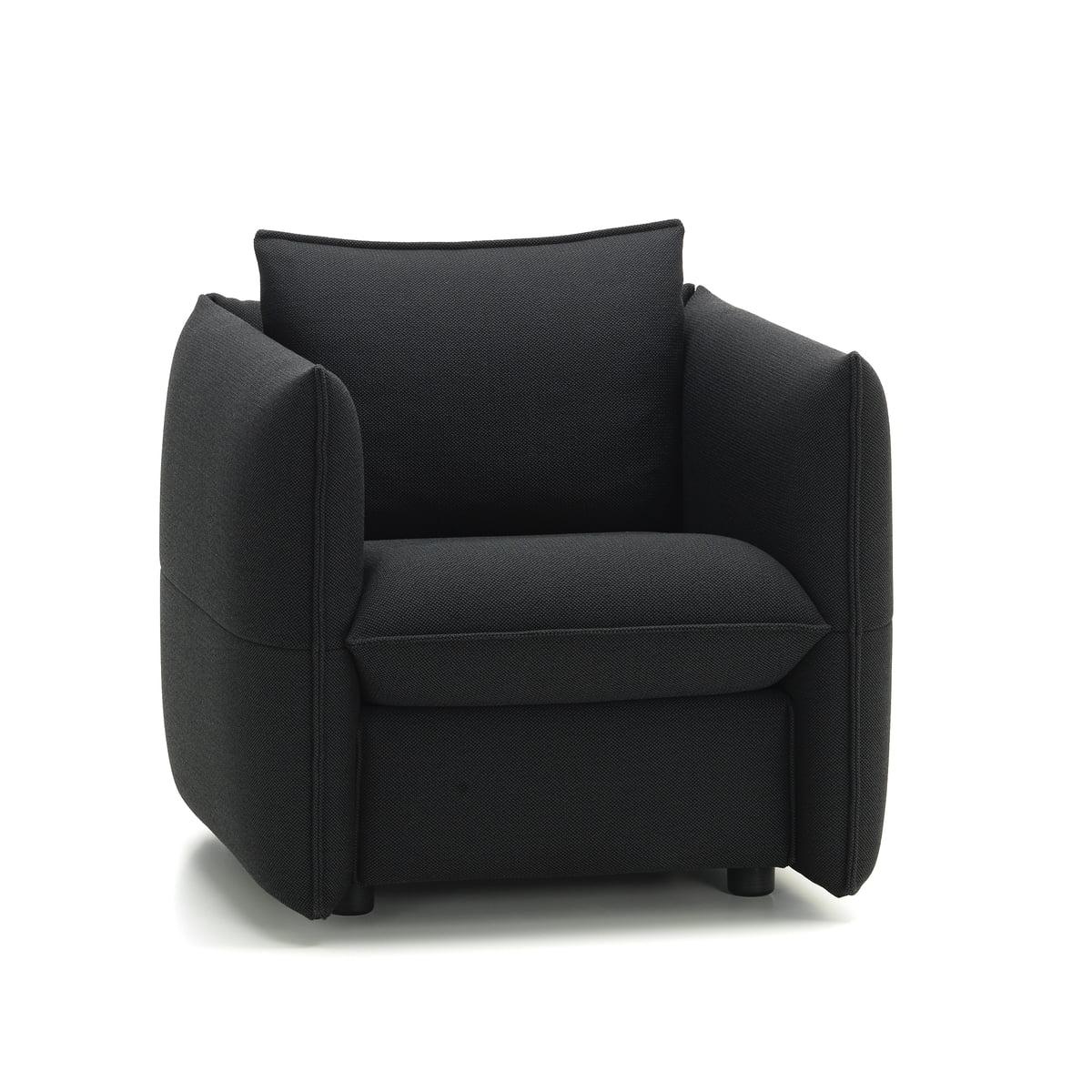 Delicieux Mariposa Club Sofa By Vitra In Plano Dark Grey / Nero (62)