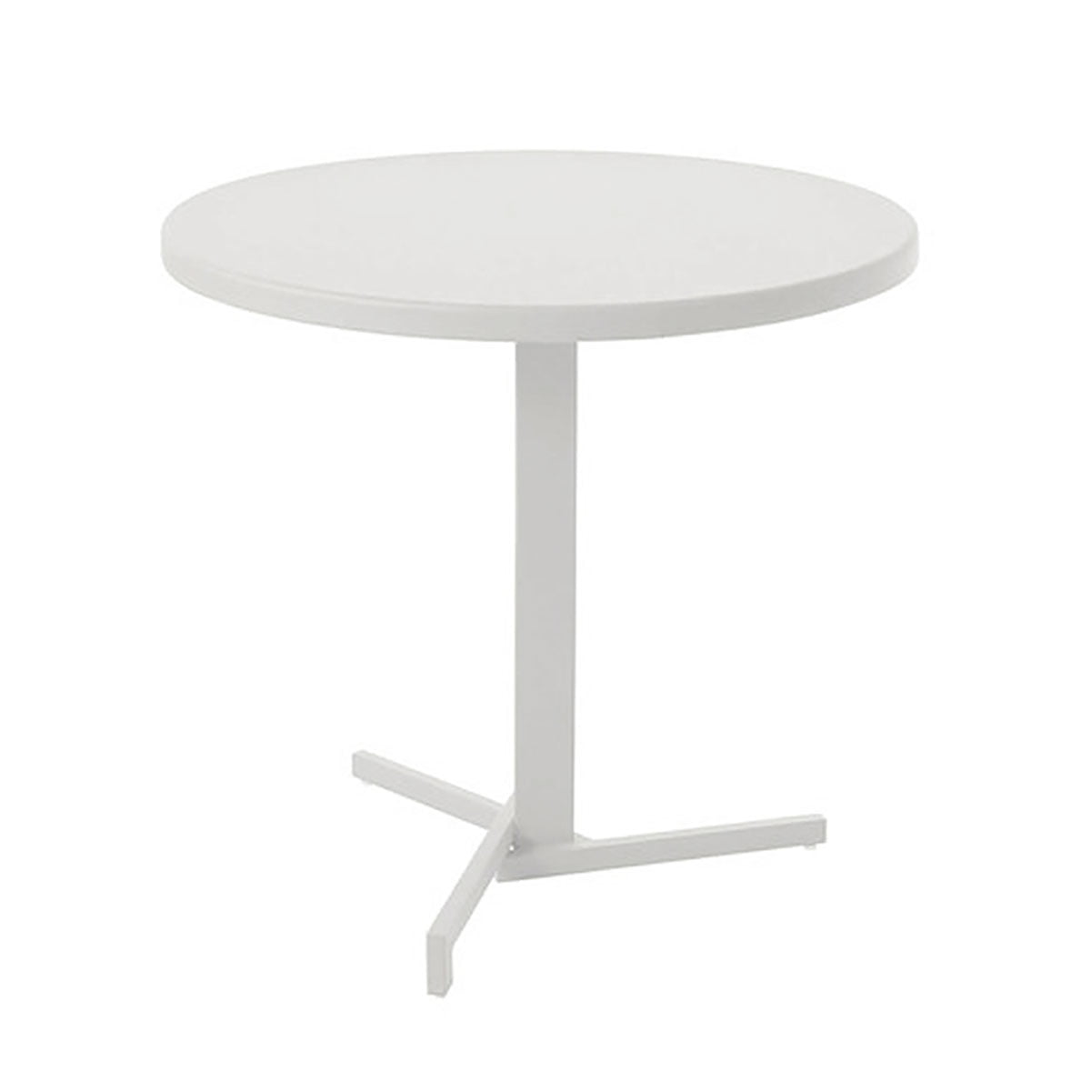 The Mia Bistro Table Ø 80 Cm In White By Emu