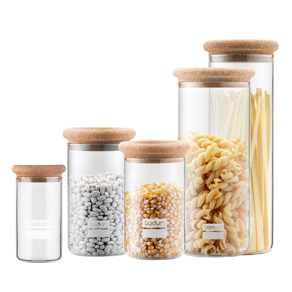 Bodum Yohki Storage Jar With Cork Lid