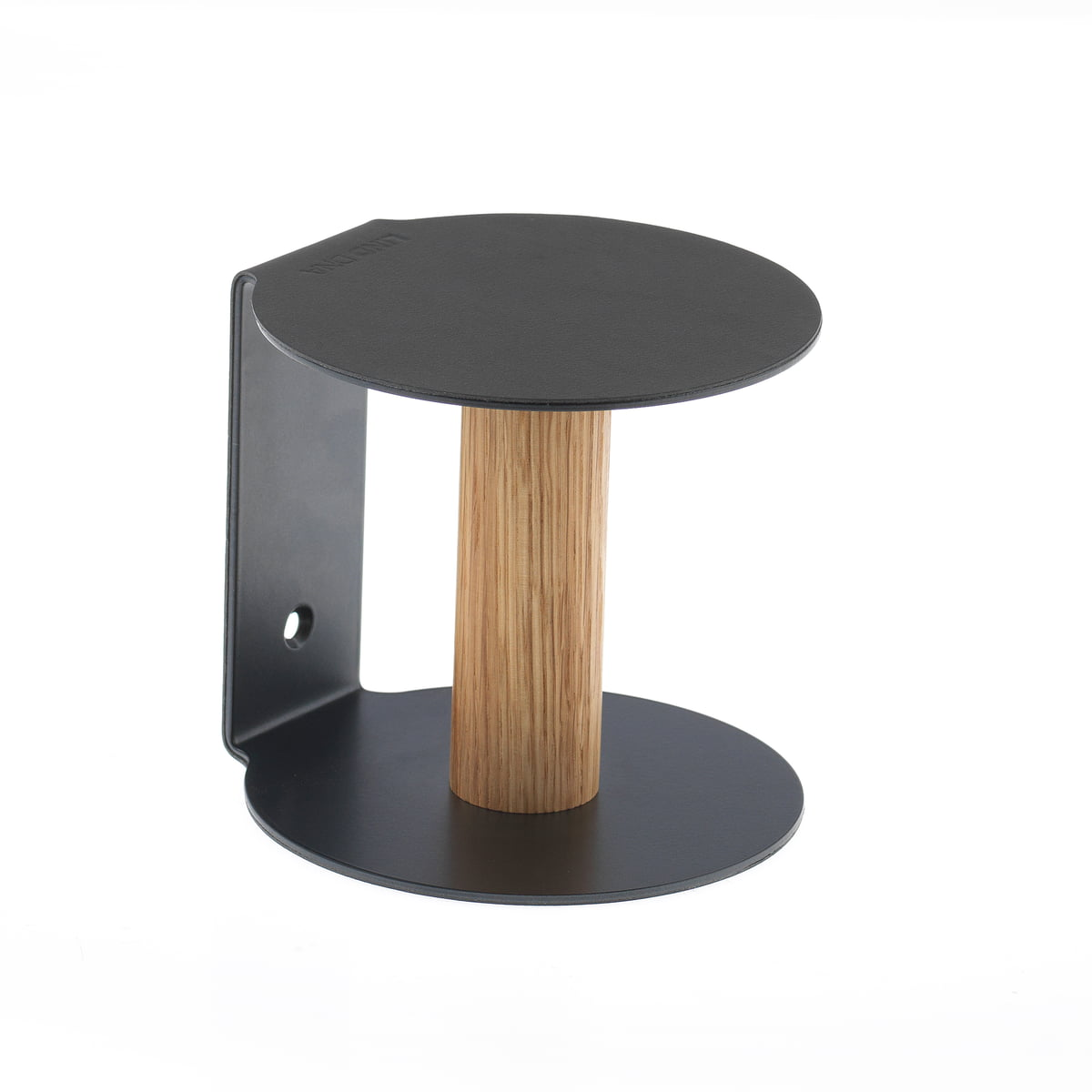Toilet Paper Holder By LindDNA In Black Nupo / Steel Black