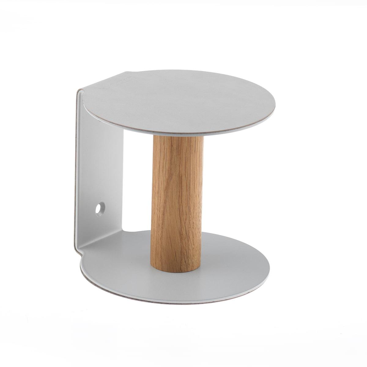 Toilet Paper Holder By LindDNA In Metallic Nupo / Metallic Steel