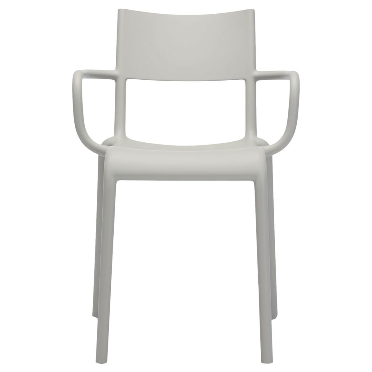 Enjoyable Kartell Generic A Chair White Inzonedesignstudio Interior Chair Design Inzonedesignstudiocom