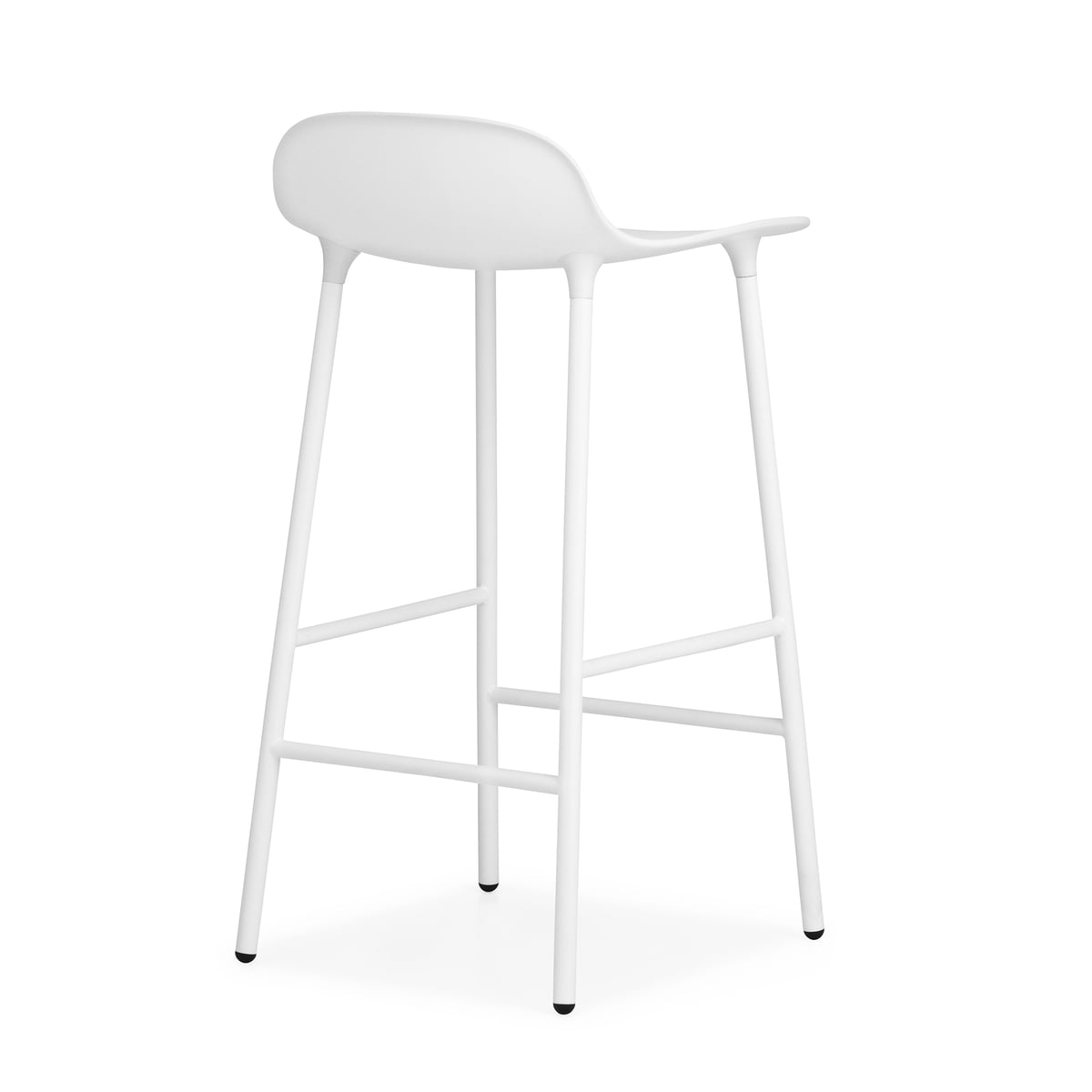 Form Bar Stool by NCH with Steel Frame