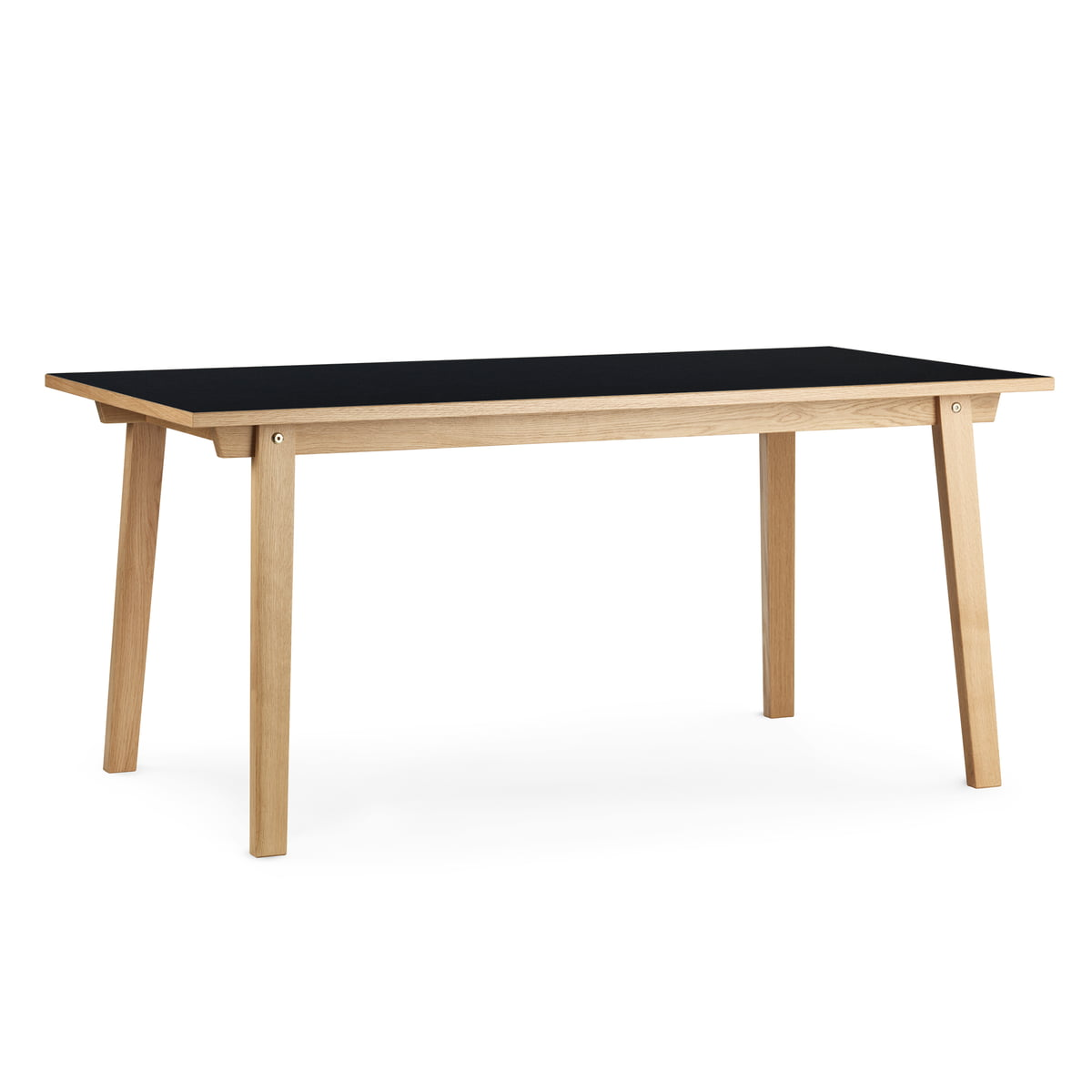 Slice Bar High Table 200 X 90 X 103 Cm By Normann Copenhagen In Black