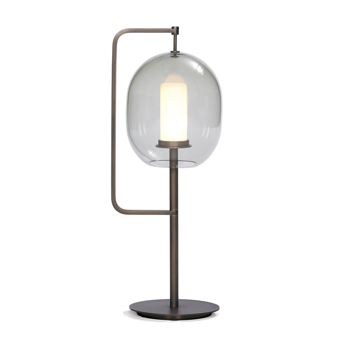 Lantern Light Table Lamp By ClassiCon In Brass