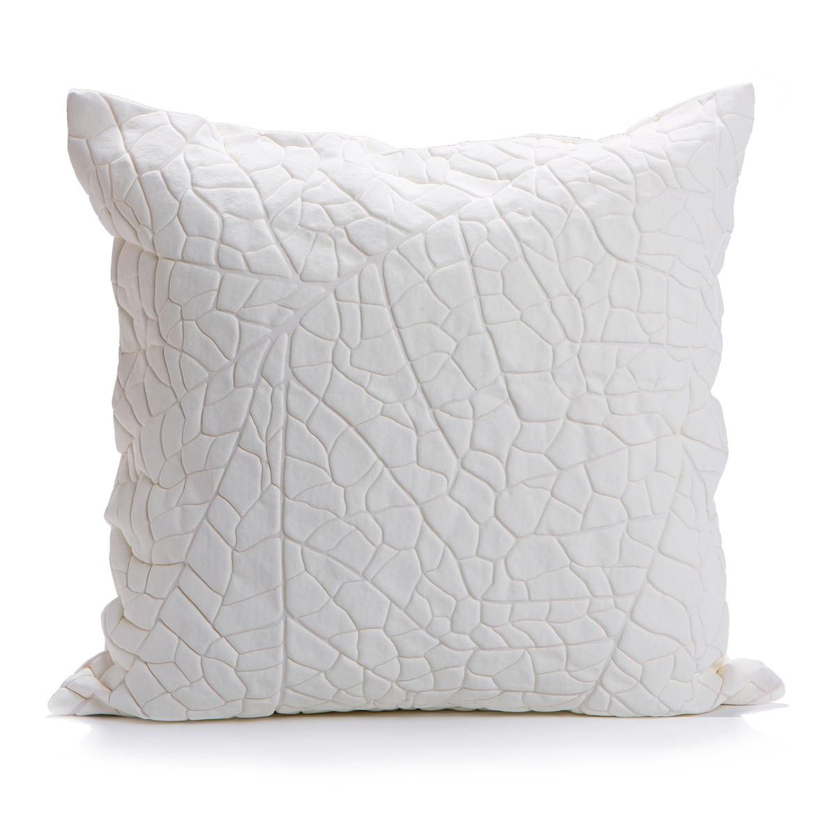 Mika Barr Vein Cushion Cover 50 X 50 Cm White