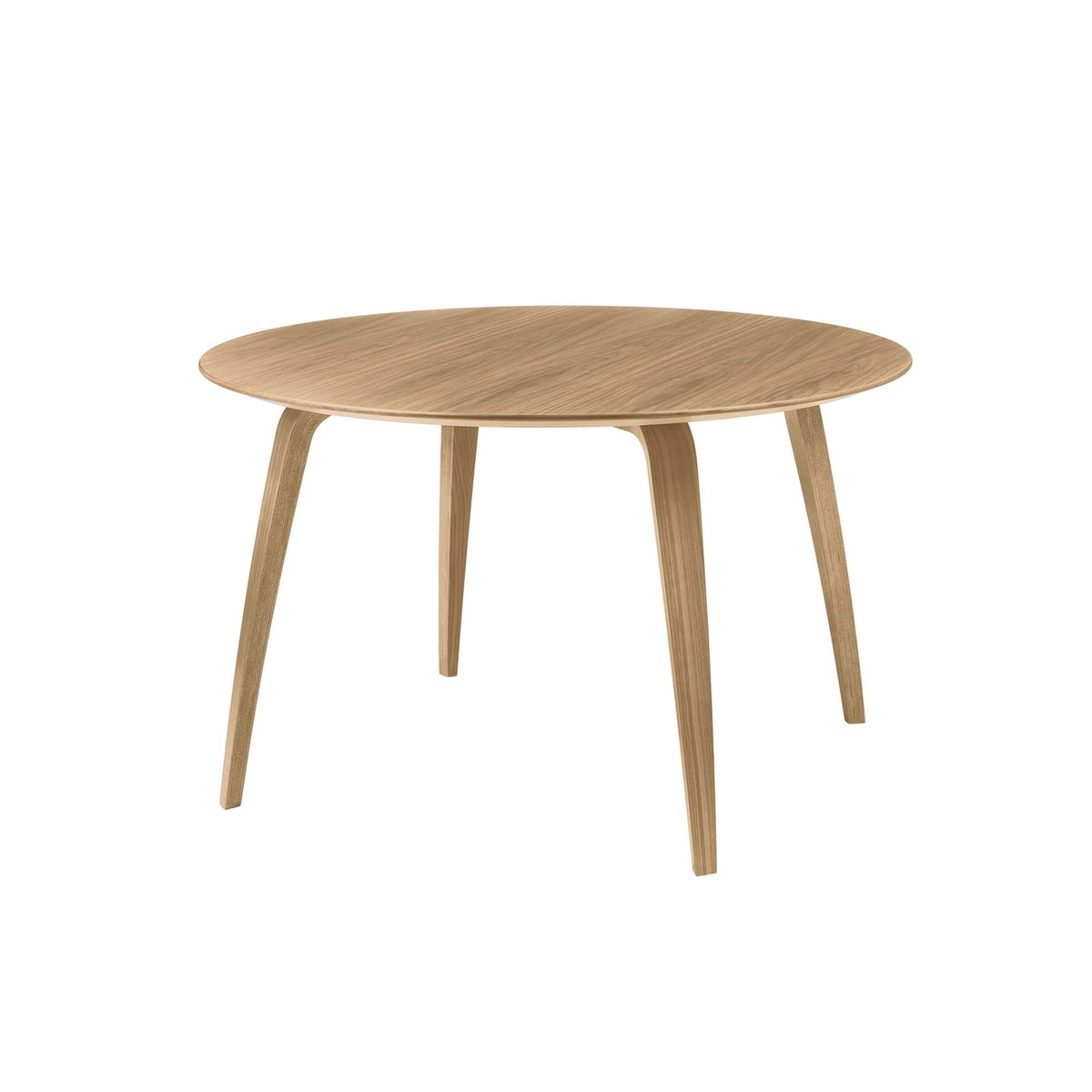 round dining table by gubi connox shop. Black Bedroom Furniture Sets. Home Design Ideas