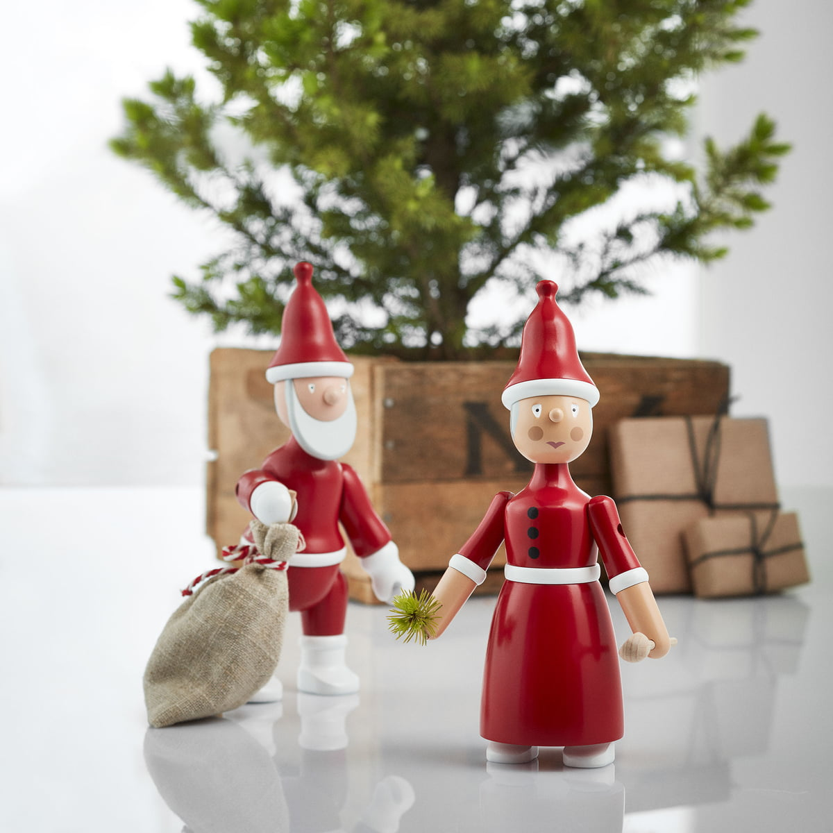 figurine image with online small christmas holidays claus decor decorations stock santa