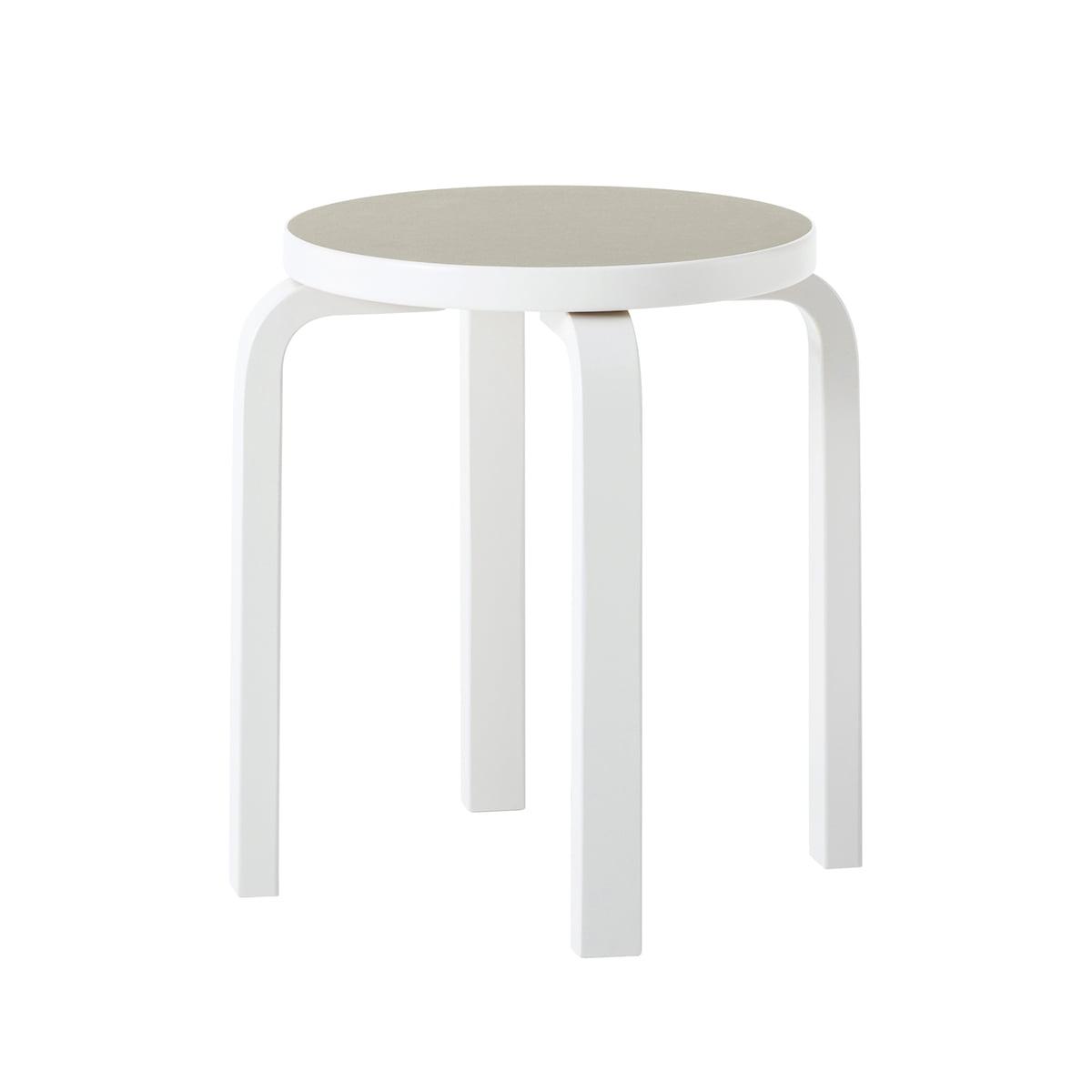 stool 60 finland 100 by artek connox. Black Bedroom Furniture Sets. Home Design Ideas