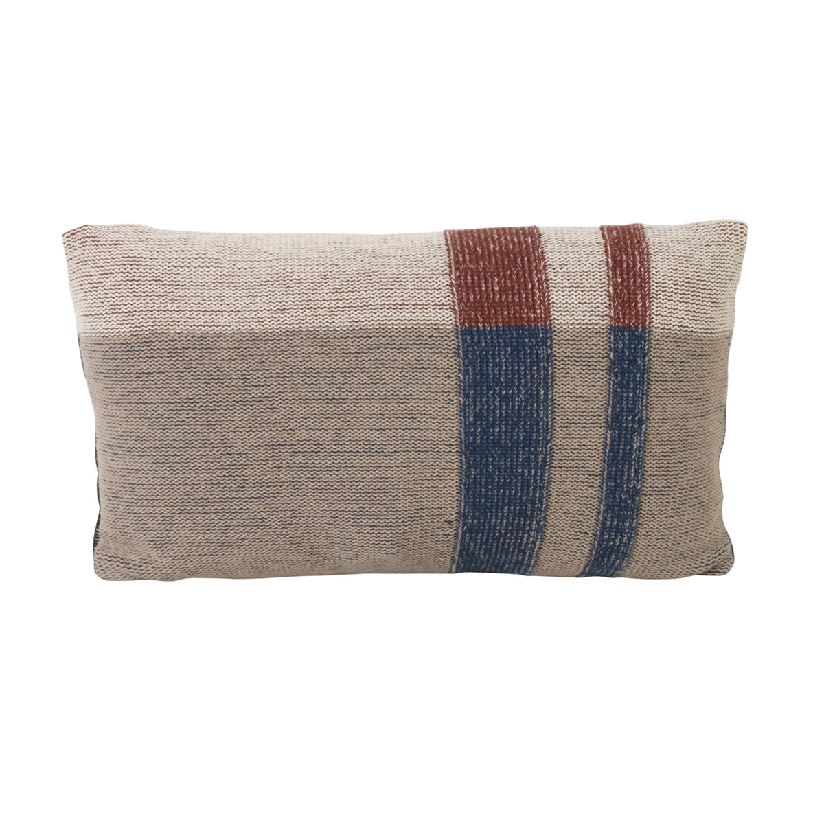 medley knit cushion by ferm living connox. Black Bedroom Furniture Sets. Home Design Ideas