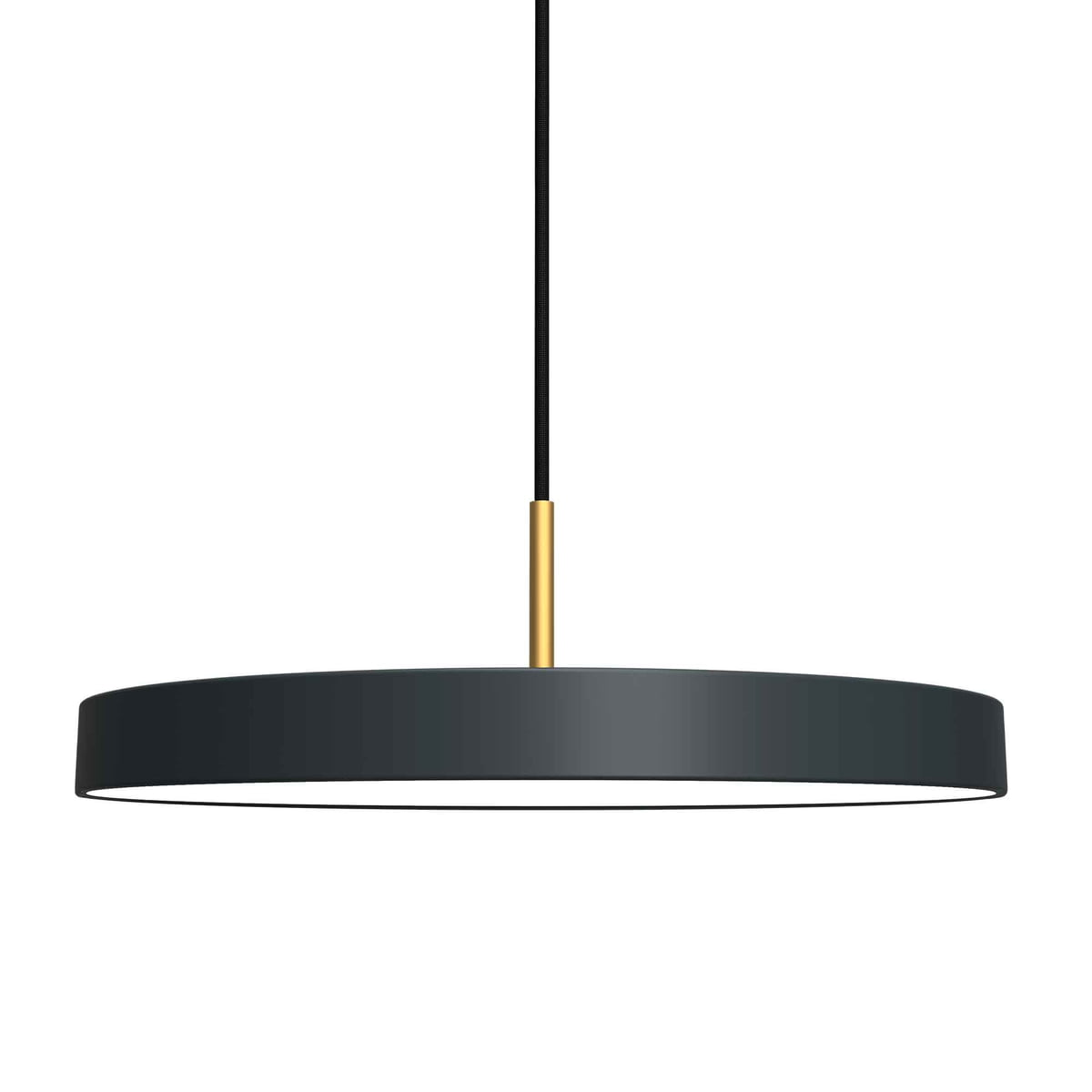 Asteria pendant lamp led by vita connox asteria pendant lamp led by vita in anthracite mozeypictures Gallery