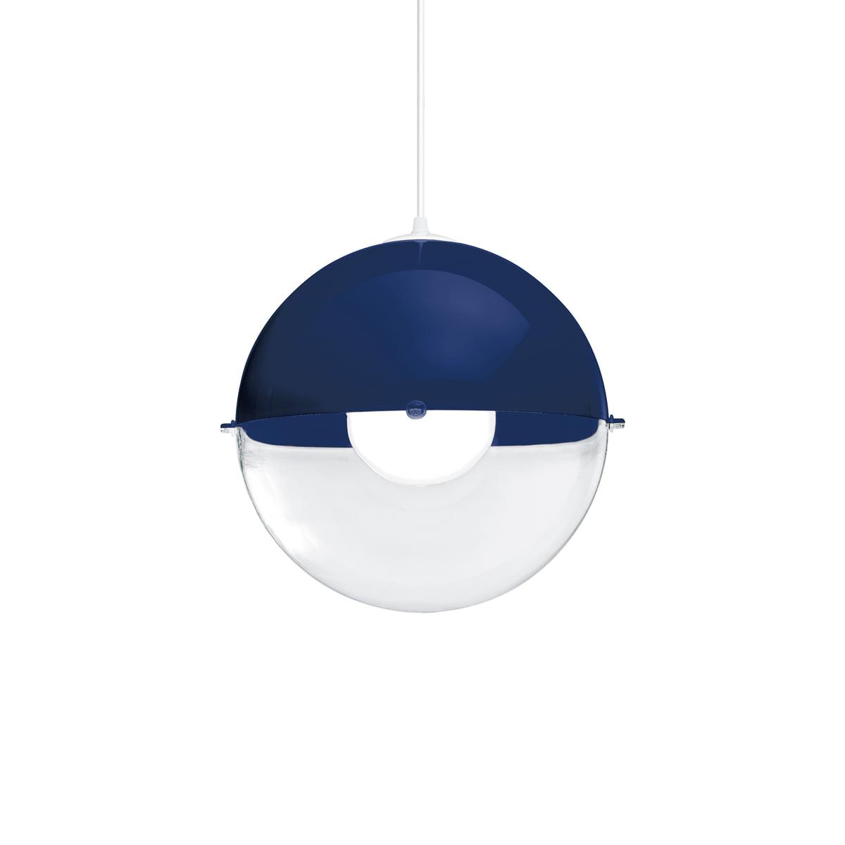 Koziol Hanglamp Orion.Koziol Orion Pendant Lamp Blue Transparent