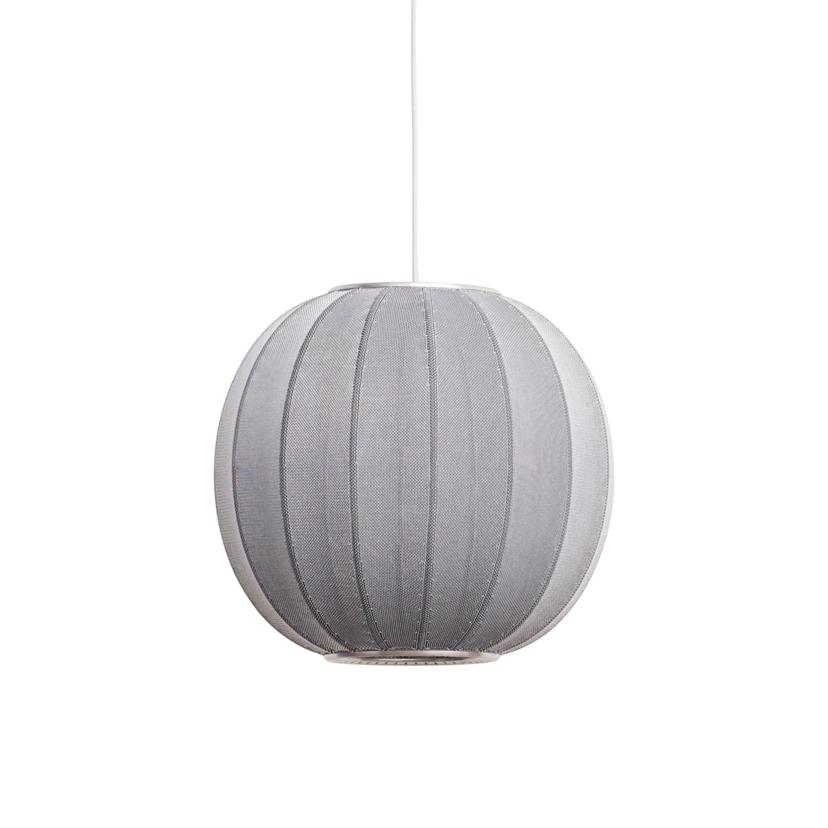 Knit wit pendant lamp by made by hand made by hand knit wit pendant lamp 45 cm silver aloadofball Gallery