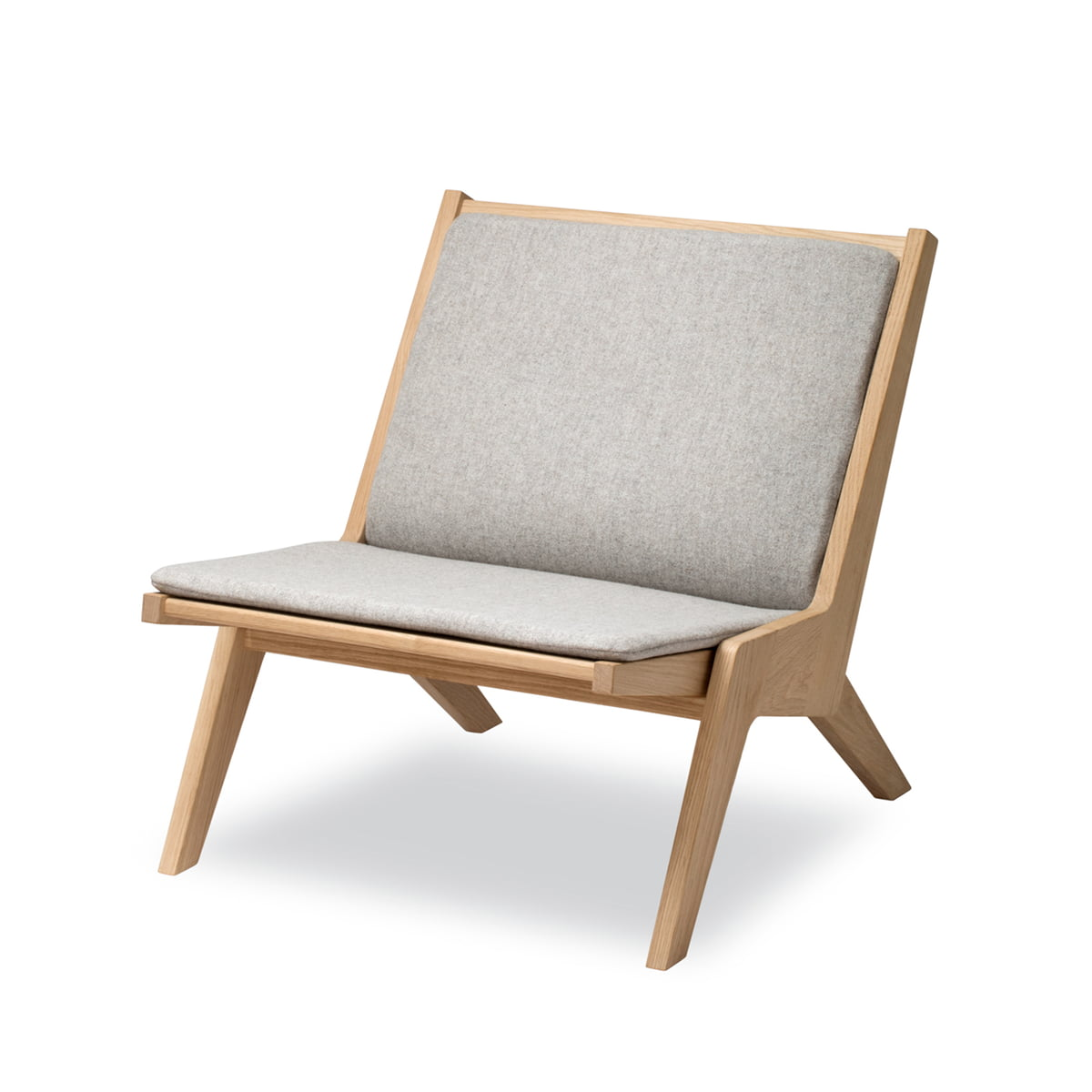 Skagerak - Miskito Lounge Chair in Oak / Light Grey