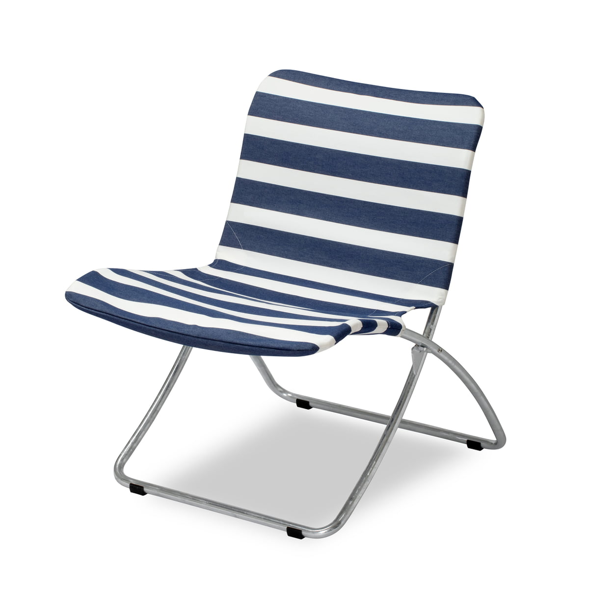 Incroyable Der Skagerak   Lise Sunchair, Dark Blue Stripes