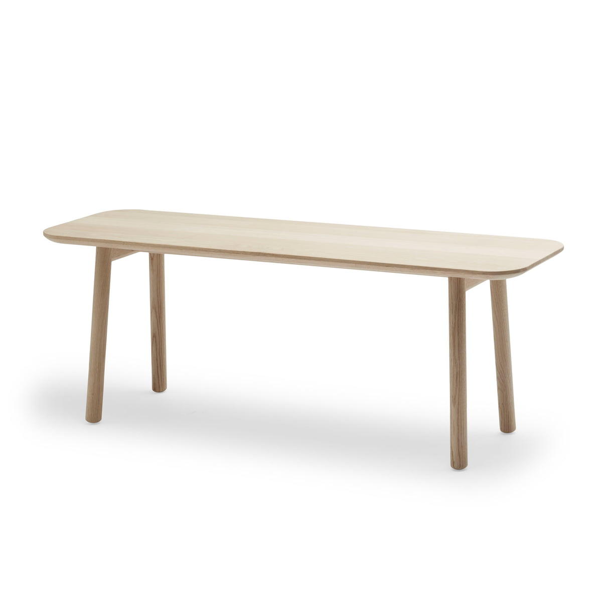 Wooden bench hven by skagerak connox shop Oak bench