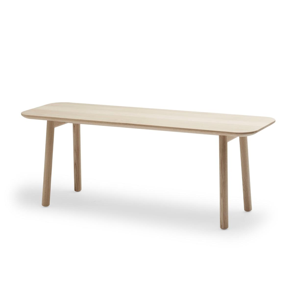 Wooden bench hven by skagerak connox shop Oak bench