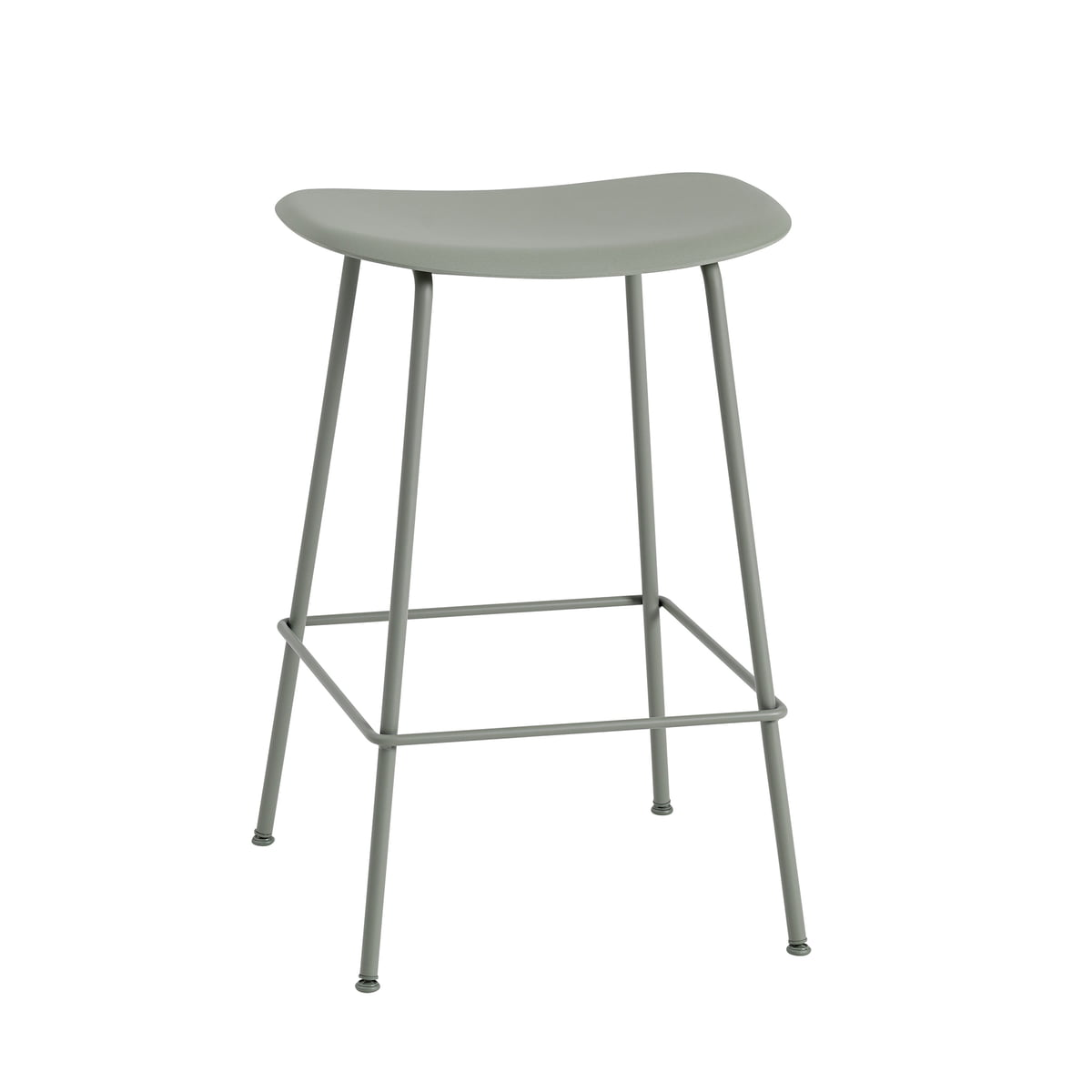 Barhocker Outdoor fiber bar stool metal base by muuto connox