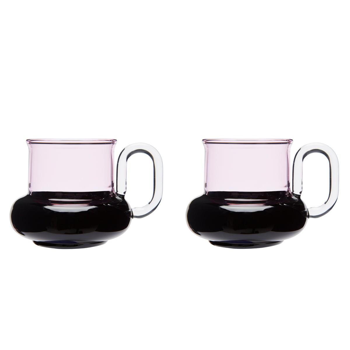 Teetassen Glas bump teacup by tom dixon connox