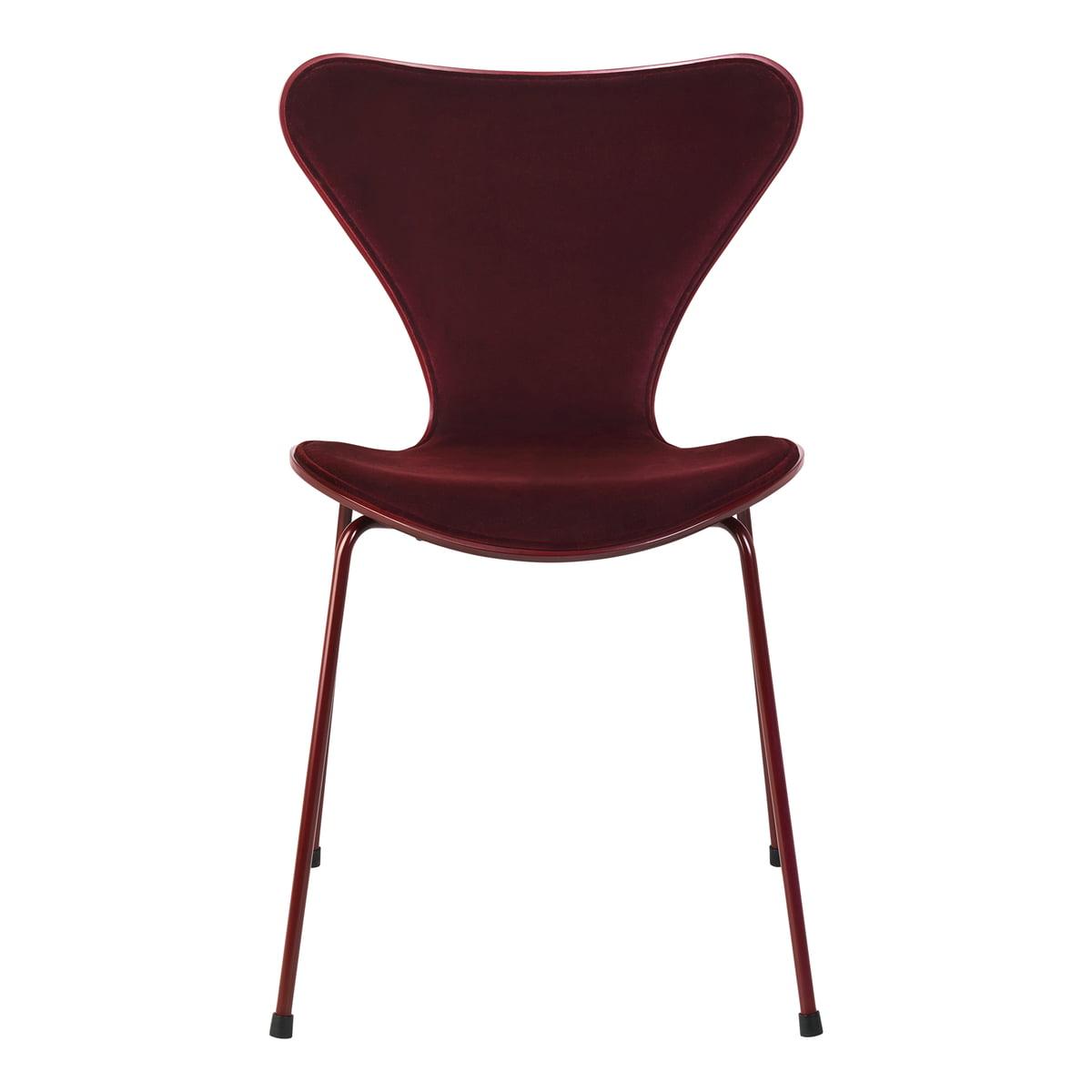 Beautiful Fritz Hansen X Lala Berlin   Serie 7 Chair, Front Upholstery, Dedar Velvet  Barberry