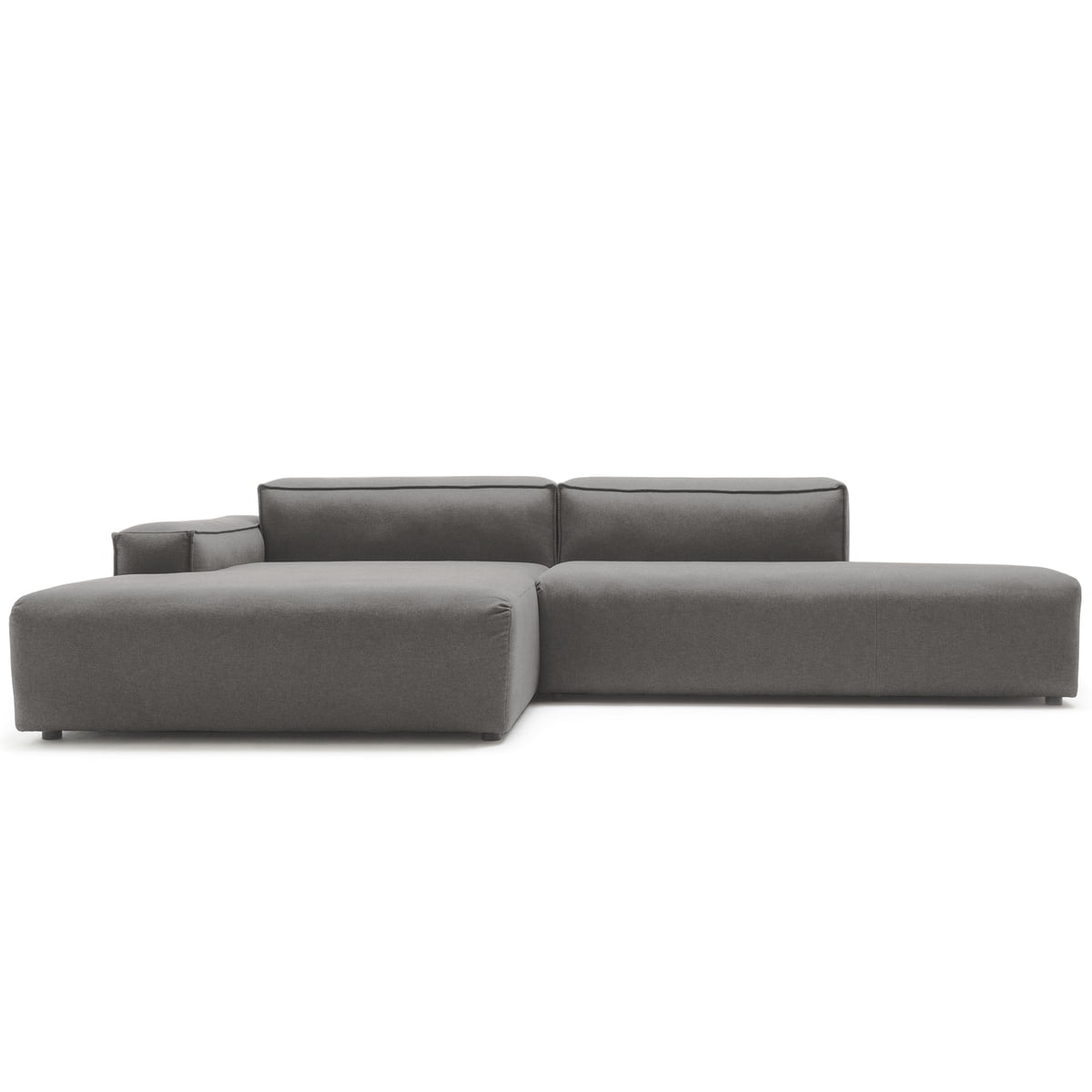 comfortable rolf benz sofa. 175 Sofa Corner, Left Side Low By Freistil With Cover In Graphite Grey (5246 Comfortable Rolf Benz T