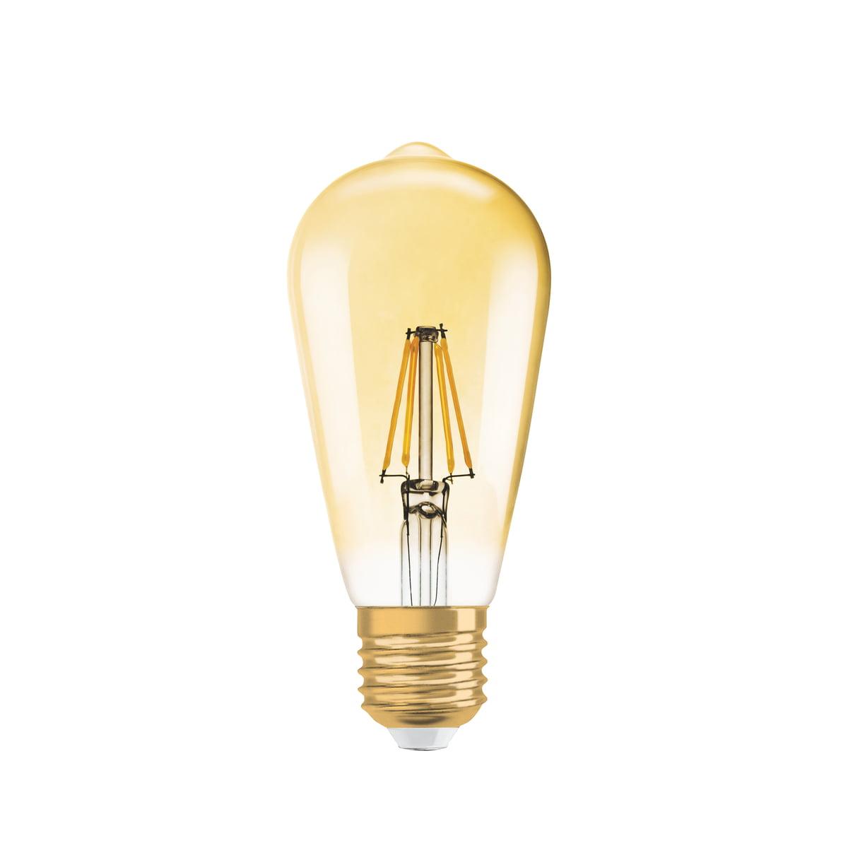 Vintage 1906 Led Lightbulb By Osram Connox