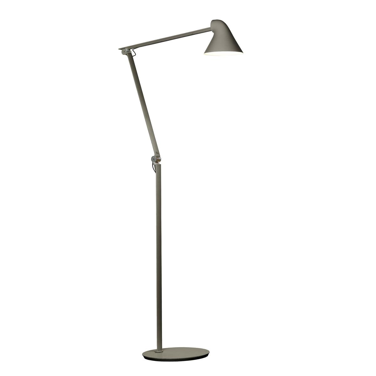 NJP LED floor lamp by Louis Poulsen